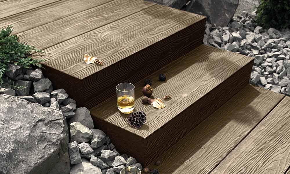 Terrassenplatten In Holzoptik Lithonplus